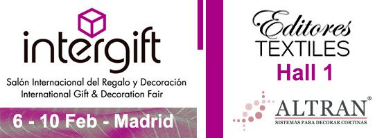 INTERGIFT high-end decoration and textiles